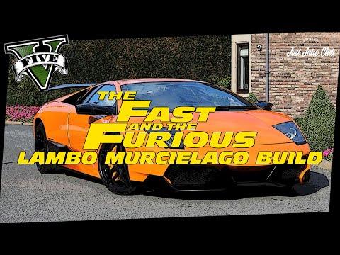 Fate Of The Furious Lamborghini Murcielago Custom Car Build Tutorial