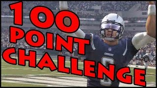 100 POINT CHALLENGE!! - Madden 16 Ultimate Team | MUT 16 XB1 Gameplay