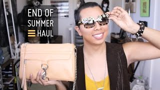 End of Summer Haul  |  Style Minded