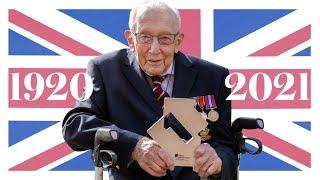 video:  Captain Sir Tom Moore dies aged 100