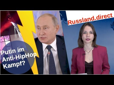 Putin im Anti-HipHop-Kampf? [Video]