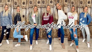 COLLEGE LOOKBOOK | College Outfit Ideas/ootw!
