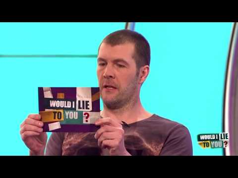 Rhod Gilbert a incident na travelátoru - Would I Lie to You?