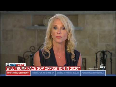 Kellyanne Conway Says Trump is Running in 2020