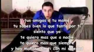 BABY RASTA Y GRINGO MAÑANA SIN TI LETRA