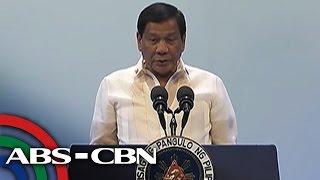 TV Patrol: Panghihimasok ng ibang bansa, dapat itigil: Duterte