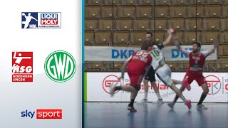 HSG Nordhorn-Lingen - TSV GWD Minden | Highlights - LIQUI MOLY Handball-Bundesliga
