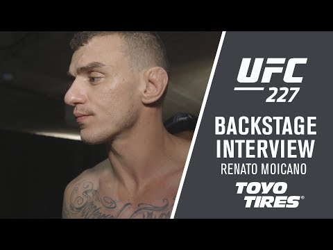 UFC 227: Renato Moicano – 'Now The People Must Know Me '