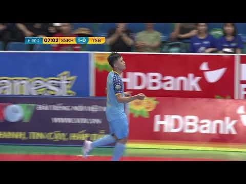 Giải futsal VĐQG 2019: Sanvinest S.Khánh Hòa vs Thái Sơn Bắc (2-0)