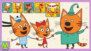 Три Кота Большой Сборник Игр с Котиками.От Кулинарного Шоу до Пикника.Геймплей Игр