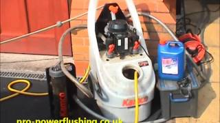 preview picture of video 'Power Flushing in northwich Cheshire'