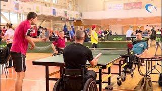 В Великом Новгороде проходит турнир по настольному теннису памяти великого полководца Александра Невского