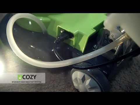 Стирка ковров и чистка пола роторной машиной HT 154