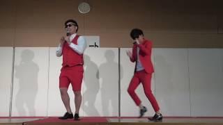田中シングル結婚8.6秒バズーカーラッスンゴレライin沖縄県うるま市産業まつりお笑いステージ