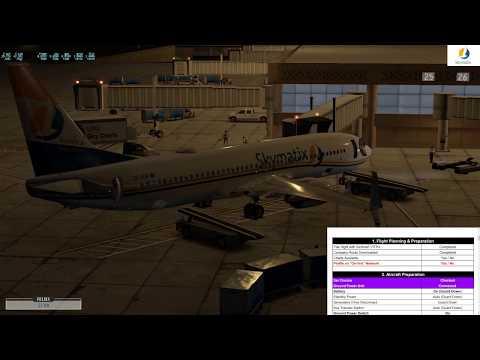 X-Plane 11 737-800x Zibo Mod Home Cockpit San Diego Test