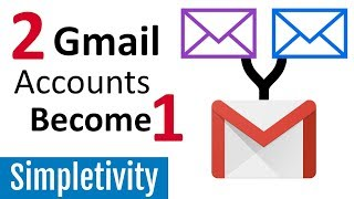 How to Combine 2 Email Accounts (Gmail Forwarding Tutorial)
