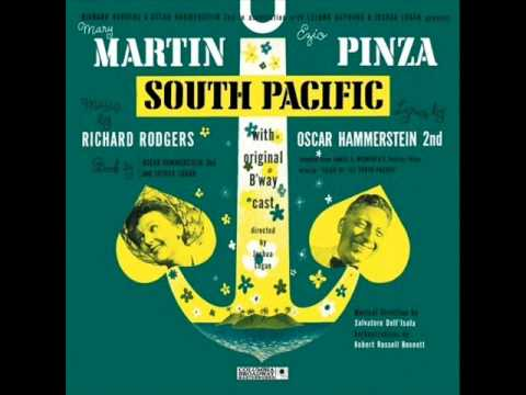 Some Enchanted Evening from South Pacific-1949 Score on Columbia.