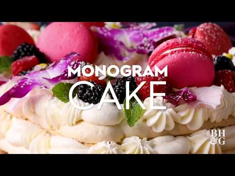 Monogram Cake | Eat This Now | Better Homes & Gardens