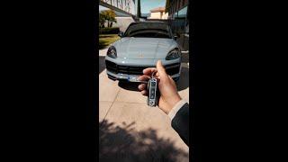 Porsche Cayenne Turbo GT: driver's POV