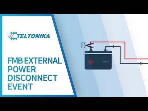 Teltonika External Power Disconnection