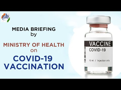 Media Briefing by Ministry of Health on COVID-19 vaccination