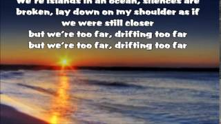 Anna F. - Too Far -- With Lyrics in Screen