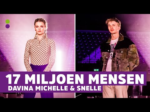 Davina Michelle en Snelle brengen 17 miljoen mensen uit