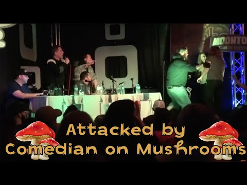 Jeremiah Watkins gets ATTACKED by Comedian on Mushrooms