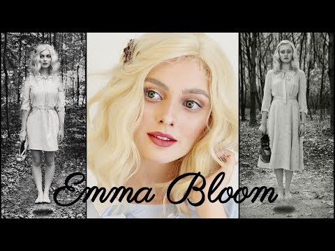 Emma Bloom Makeup & Hair Tutorial | Ella Purnell in Miss Peregrine's Home for Peculiar Children