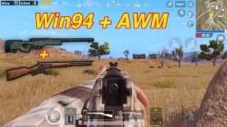 PUBG Mobile | Duoble Sniper Win94 + AWM Lấy TOP 1 √