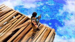 WORLD'S HIGHEST SKY FORT in Fortnite: Battle Royale!
