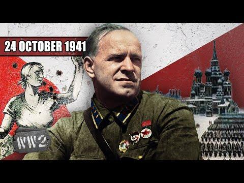 Sovětům přichází posily ze Sibiře - Druhá světová válka