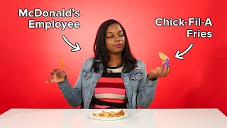 Fast Food Employees Review Each Others Fries