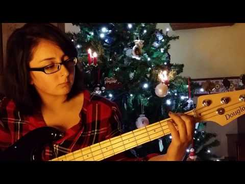 """Kelly Clarkson """"Underneath the Tree"""" (Bass Cover) HD"""