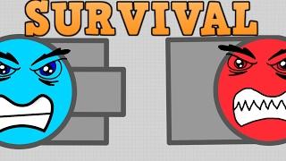 DIEP.IO SURVIVAL GAME MODE!! // Best Survival Mode Tank // (Diep.io Update)