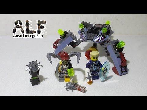 Vidéo LEGO Ultra Agents 70166 : L'infiltration de Spyclops
