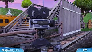 Fortnite Battle Royale - All Film Cameras Locations Guide (Season 4 Challenge) - Video Youtube