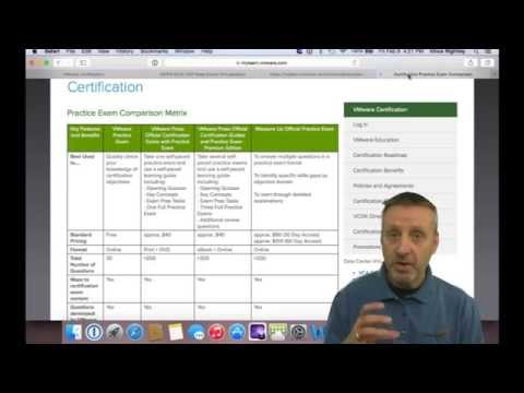 VMware Certification. What do I need to know? - YouTube