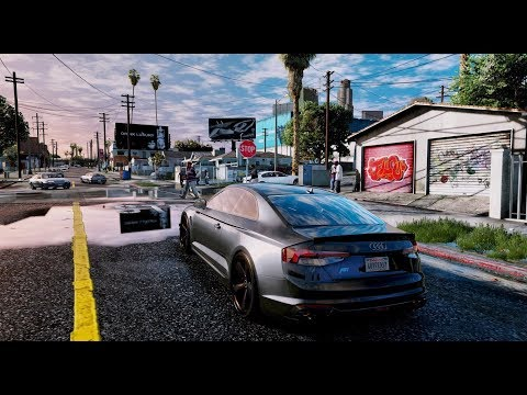 ►GTA 6 Graphics ✪ 2019 CARs GAMEPLAY ULTRA-REALISTIC Graphics!  RTX™ 2080 Ti 60 FPS[GTA V ENB MOD]