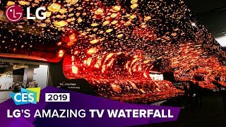 CES 2019: Experience LG's breathtaking OLED TV display