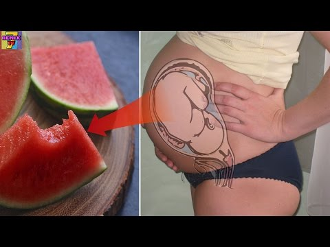 Video Pregnant Women Eat Watermelon, This Can Happened to Your Baby