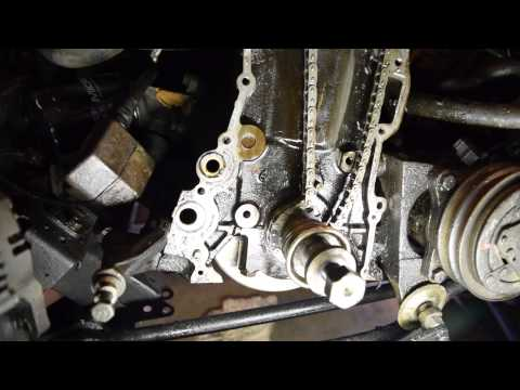 Фото к видео: Nissan truck timing chain replacement part 1
