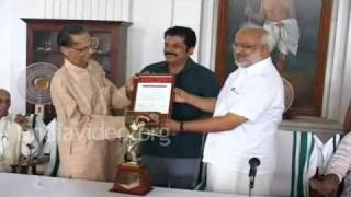 Cultural award for Kavalam Naryana Panicker