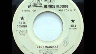 Fats Domino - Lady Madonna (1968)