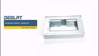 Mouse Bait Station - 26x15x5 cm SKU #D1143234