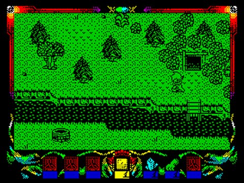 Wanderers - Chained in the Dark Walkthrough, ZX Spectrum