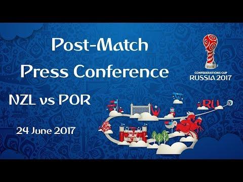 NZL vs POR : Post-Match Press Conference