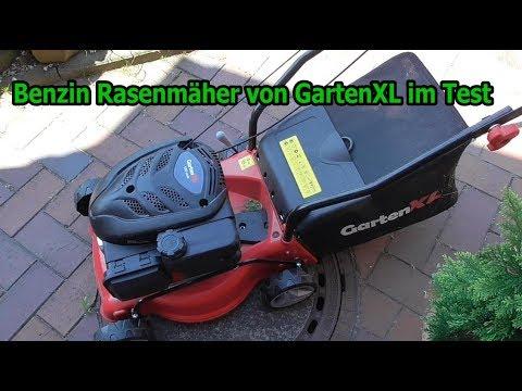Günstiger Rasenmäher im Test / Benzin Rasenmäher 16LP-123-S von GartenXL / Unboxing Testbericht