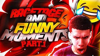 I BROKE MY ELGATO! RAGETAGE / FUNNY MOMENTS PART 1! I BROKE MY CONTROLLER ON NBA 2K17!