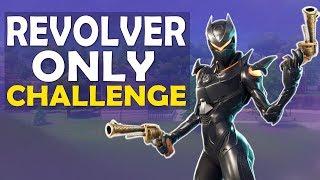 REVOLVER ONLY CHALLENGE   BUILD BATTLES   INTENSE FIGHTS FUNNY GAME - (Fortnite Battle Royale)